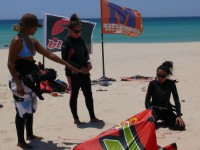 All detailed instruction with Tarifa Max kitesurfing school the oldest kiteschool in Tarifa. Our experience makes the difference