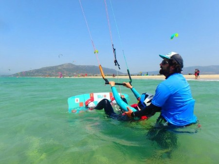 Kite surf course Tarifa Spain